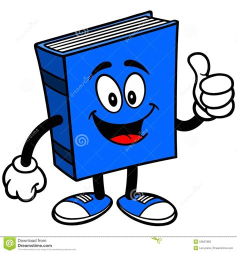 thumbs up for thumbs out books blue book with thumbs up stock vector image of