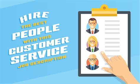 customer service job description template 11 free word pdf