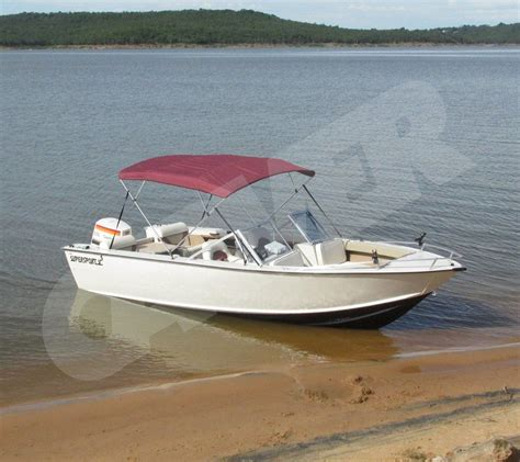 round bow boat carver 4 bow round tube bimini boatcoversdirect bimini