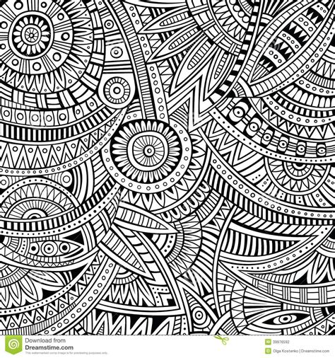 abstract tribal pattern abstract vector tribal ethnic background pattern stock