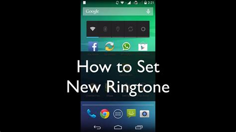 ringtones for android phone how to set new ringtone in moto e g x or any android phone