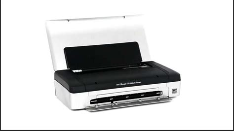 Mobile Printer Bluetooth Hp M200 hp officejet 100 mobile printer l411a cn551a a4 single function bluetooth color inkjet