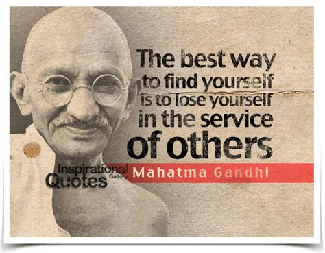 Best Way To Search The Best Way To Find Yourself Is To Lose Yourself In The Service Of Others