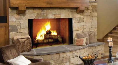 Awntech Awnings Majestic Biltmore Radiant Wood Burning Fireplace 50 Inch