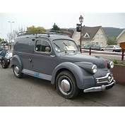 Panhard Dyna X Classic French Van Camionnette Wallpaper