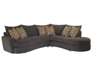 curved sofa set curved sectional sofa set with chaise neautral fabric 11406