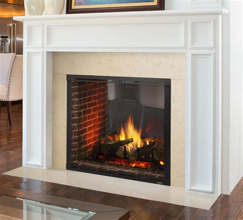 gas fireplaces marquis ii see through kastle fireplace