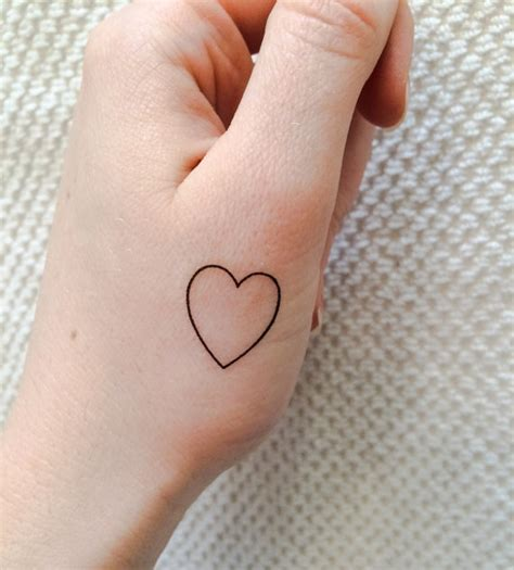 tattoo hand girly simple creative temporary finger tattoos girly design blog