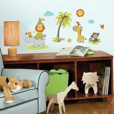 How To Stick Wall Stickers Nursery Wall Decals Nursery Wall Stickers Roommates