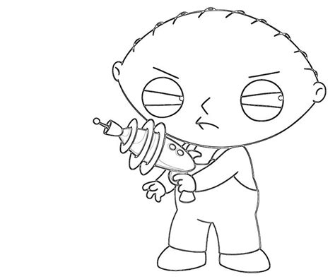 Stewie Griffin Look Avondale Style Stewie Coloring Pages