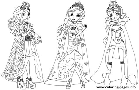 ever after high baby coloring pages ever after high legacy day coloring pages printable