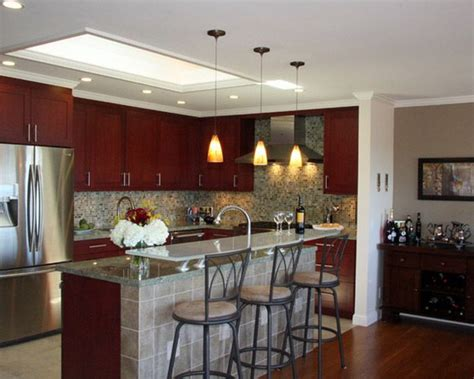 Kitchen Overhead Lighting Recessed Bedroom Livingroom Kitchen Design Different Built Glass Bright Unique Kitchen Ceiling