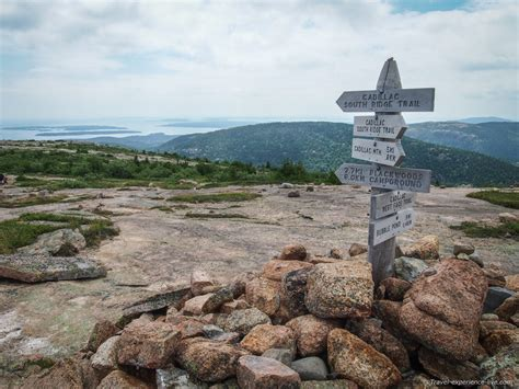 cadillac mountain trails hiking cadillac mountain maine travel experience live