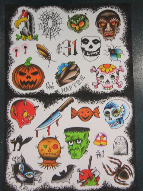 halloween tattoos today martineztattoo