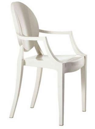 sedie simili kartell louis xiv ghost armchair