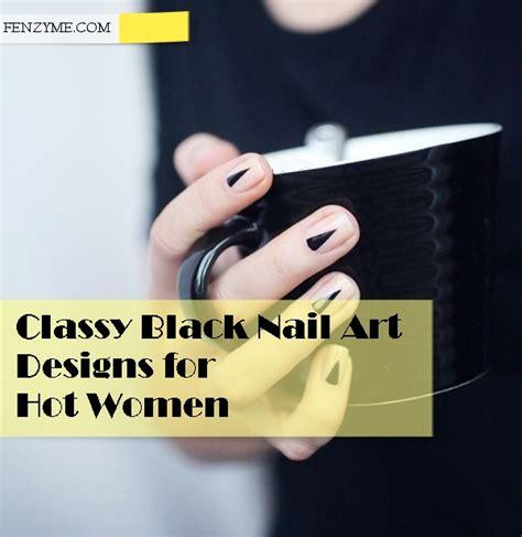 40 classy black nail art designs for hot women 40 classy black nail art designs for hot women