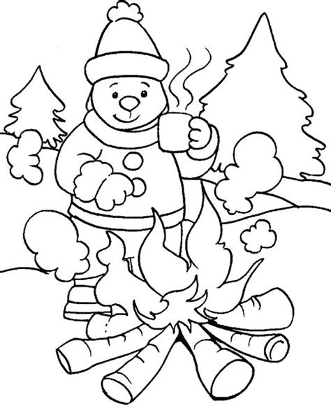 coloring pages animals in winter animals in winter coloring pages printable coloring