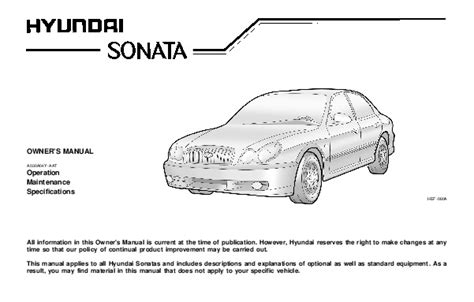 car service manuals pdf 2004 hyundai sonata transmission control 2003 hyundai sonata owners manual