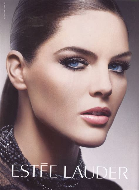Hilary Rhoda Is The Newest Of Estee Lauder by Beautiful Model Hilary Rhoda Modeling For Estee Lauder
