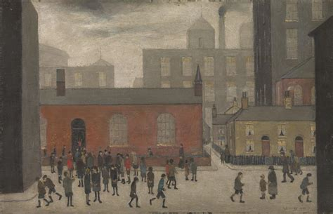 ls are going out coming out of l s lowry tate