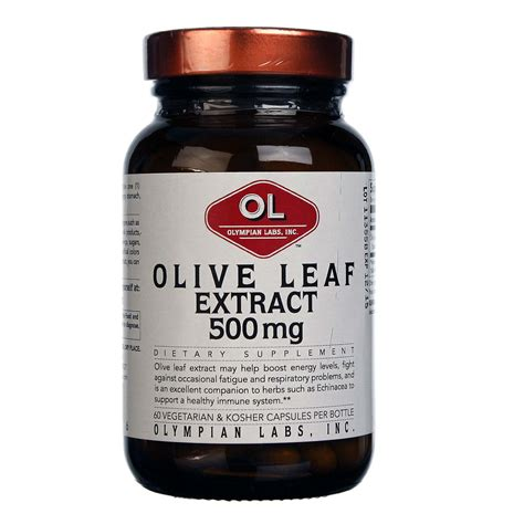 Olive Leaf Detox For Dogs by Olympian Labs Olive Leaf Extract 60 Capsules Evitamins