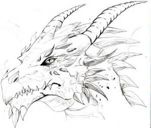 Cool dragon drawing we heart it dragon
