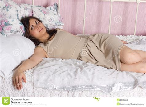 girl in bed beautiful girl in bed stock images image 27403354