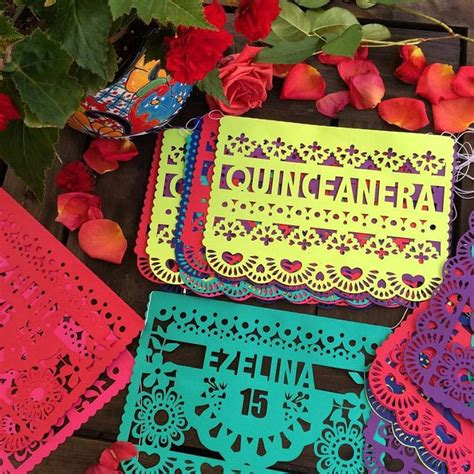 mexican themed quinceanera ideas pretty papel picado quincea 241 era banners fiesta