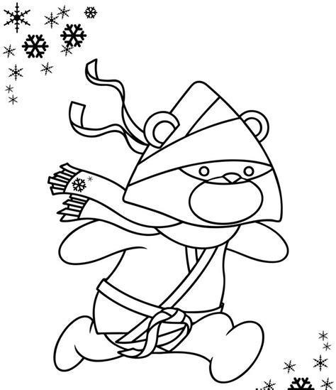 cute ninja turtles coloring pages cute ninja coloring page printables pinterest