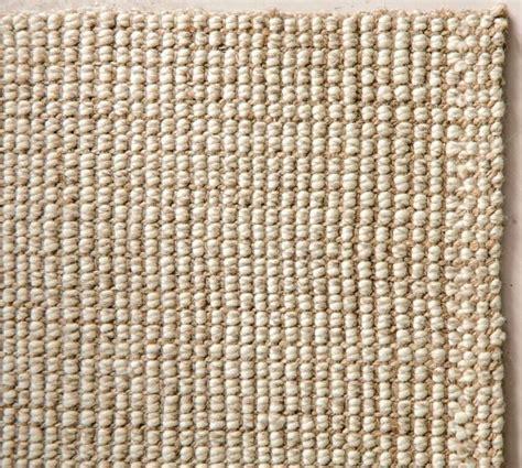 Chunky Wool Jute Rug Natural Pottery Barn Jute Rugs