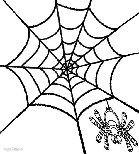 s web coloring pages printable spider web coloring pages for cool2bkids