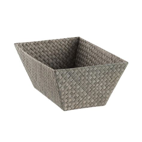 small rectangular small rectangular pandan basket the container store