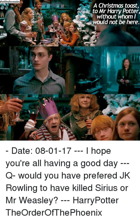 Harry Potter Christmas Meme - 25 best memes about mr weasley mr weasley memes