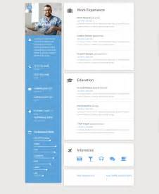 20 best resume and cv website template 2017 responsive