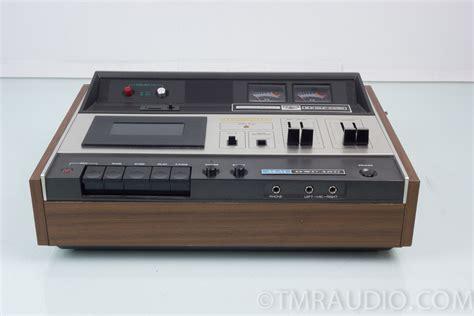 vintage cassette cassette deck