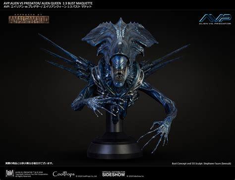 xenomorph queen aliens and predators alien queen by alien vs predator alien queen bust by coolprops the