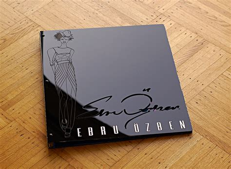 Designer Covers Custom Acrylic Fashion Design Portfolio Book