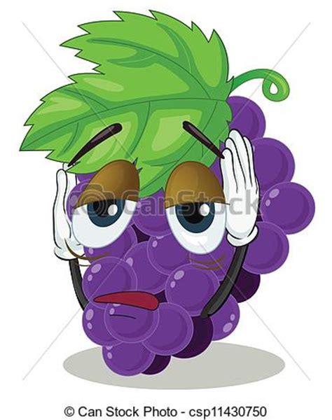 imagenes graciosas uvas clip arte vetor de uvas grupo ilustra 231 227 o de um