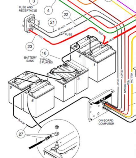 wiring diagram 2014 48 volt club car golf cart wiring