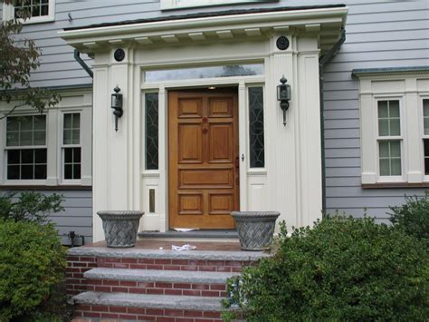 Solid Front Doors For Homes Vintage Solid Wood Front Door With Glass