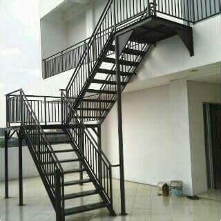 model tangga minimalis modern bengkel las tangerang