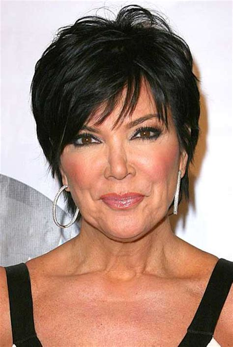 pics of chris jenners different hairstyles best short hairstyles for thick hair short hairstyles