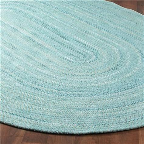 turquoise braided rug coastal colors braided chenille rug butter braided rug and colors