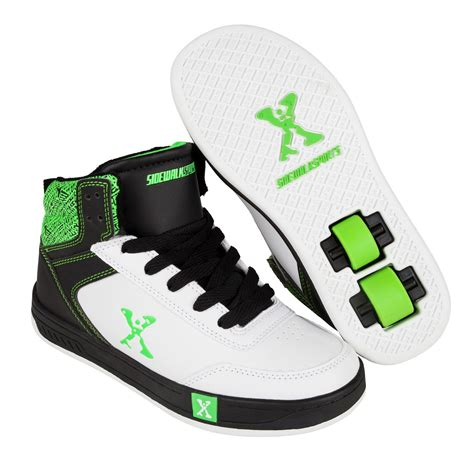 rollerblade shoes for sidewalk sport hi top junior boys skate lace up