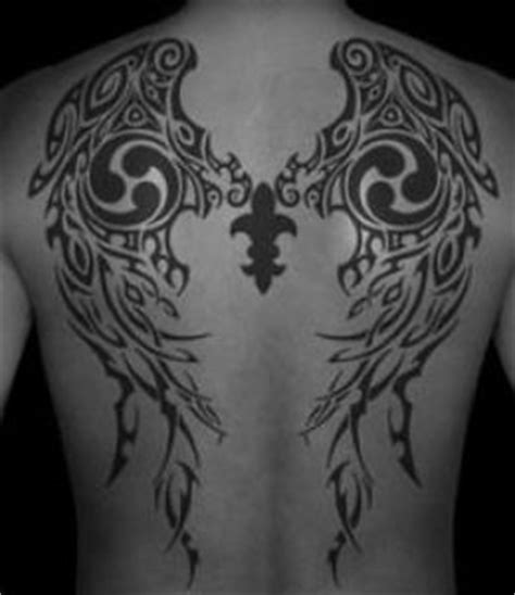 tribal wings tattoo meaning a of tribal wings can be a symbol of angelic