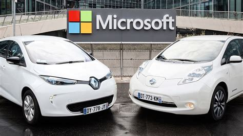 renault nissan cars renault nissan and microsoft team up for connected car
