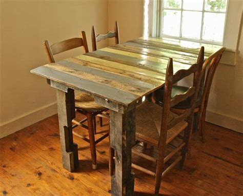 Dining Room Table Made From Pallets Dining Table 101 Pallets