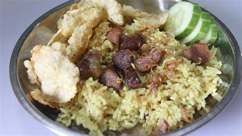 membuat nasi kebuli khas indonesia youtube