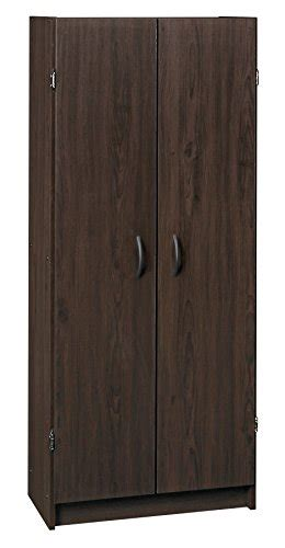 Pantry Cabinet Espresso by Closetmaid 1556 Pantry Cabinet Espresso Furniture