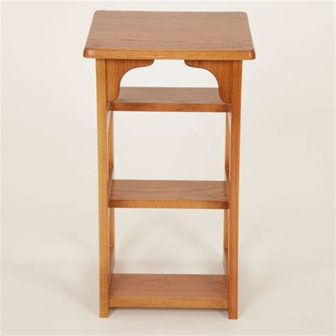 Oak Step Stool by Legacy Artisan Finished Oak Step Stool And Chair